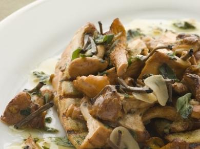 Какой можно сделать салат из соленых грибов